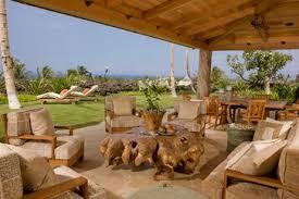 Lanai Patio Designs Lanai On Kohala Coast Big Island Hawaii Tropical Patio By