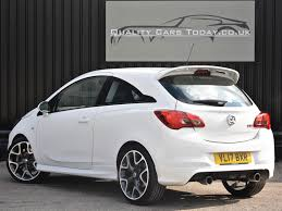 opel corsa opc white used 2017 vauxhall corsa vxr vxr for sale in south yorkshire