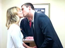 The Surprising Magic Of A Courthouse Wedding   The Huffington Post            ValerieSullivan KissTheBride JPG