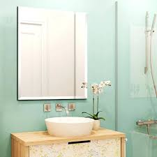 Non Illuminated Bathroom Mirrors Bevelled Edge Bathroom Mirror Non Illuminated X Ballers
