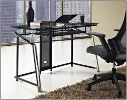 Mezza L Shaped Desk L Shaped Glass Computer Desk Office Max Desk Home Design Ideas