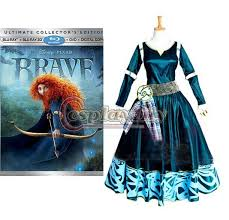 Merida Halloween Costume Custom Merida Princess Dress Brave Legend Dress Cosplay