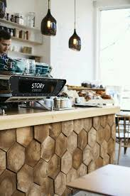 that counter lovely idea wood style warm atmosphere welcoming