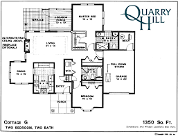 cottages floor plans cottage homes quarry hill