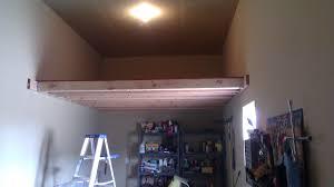 building a loft in garage plans garage storage loft plans