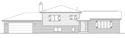 adair architects inc split level home plans