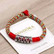 red rope bracelet images Hand woven tibetan lucky red rope bracelet zenheavens jpg