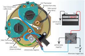 surejust u003e surecal 12v 240v motorhome water heater immersion