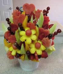 how to make fruit arrangements make an edible fruit bouquet easy how to photos