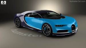car bugatti 2017 360 view of bugatti chiron 2017 3d model hum3d store