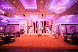 reception banquet halls karan meeti wedding reception at grand empire khazana creations