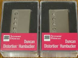 new seymour duncan sh 6 distortion mayhem pickup set humbucker