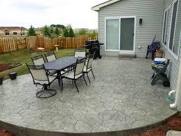 best concrete patio ideas diy choosing a good cement patio ideas