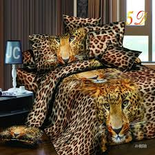 Cheetah Print Bedroom Set by Online Buy Wholesale Tiger Print Bed Sets From China Tiger Print