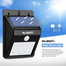 super solar powered motion sensor lights super lit 8 led solar power motion sensor garden l outdoor
