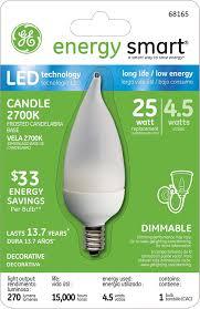 Led Light Bulbs Ge by Amazon Com Ge Lighting 68165 Energy Smart Led 4 5 Watt 25 Watt