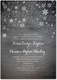 winter wedding invitations winter snowflake wedding invitations mid south