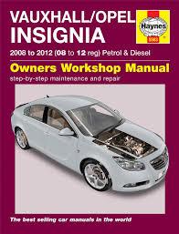 haynes service u0026 repair manual vauxhall insignia 2008 2012 5563