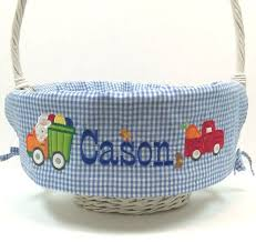personalized easter basket liners 13 best easter basket liners images on basket liners