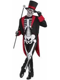 Skin Suit Halloween Costume Skeleton Man Skin Suit Wholesale Horror Mens Costumes