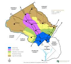 Fairfax County Map General Plan Refinement Wedges And Corridors Concept Map Small