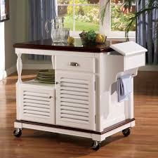 Mobile Kitchen Island Butcher Block by Kitchen Artistic Kitchen With Brick Wall And Checkered Floor