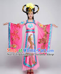 Chinese Costume Halloween Chinese Fairy Dance Costumes Competition
