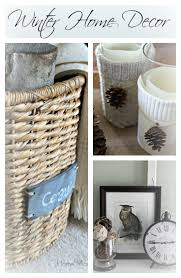 Winter Home Decor Cozy Home Decor Home Made Modern