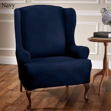 Navy Upholstered Dining Chair Blue Upholstered Dining Chairs Blue Wingback Chair U2013 Laluz Nyc