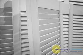 Cabinet Door Vents Single White Primed Louvre Door Vented Open Slatted Wardrobe