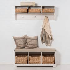 Storage Hallway Bench by Hallway Storage Sets Matching Storage Benches And Shelves