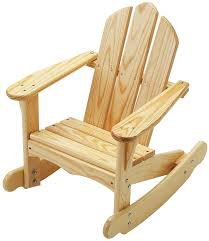 Rocking Chair Amazon Com Little Colorado Child U0027s Adirondack Rocking Chair