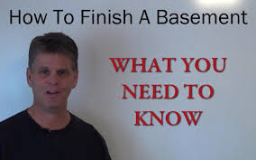 how to finish a basement a complete step by step guide to