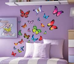 butterfly wall decals art nursery butterfly wall decals ideas image of butterfly wall decals set