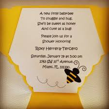 bee baby shower ideas bee themed baby shower invitations theruntime