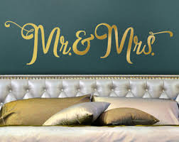 Headboard Wall Decor by Mr And Mrs Headboard Etsy