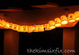 k cup recycled garland ghosts by day pumpkins by night the