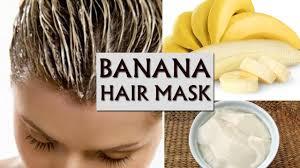 banana hair apply this banana curd hair mask to stop hair fall instantly