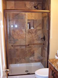 Built In Shower by Small Bathroom Corner Shower Ideas Built In Storage Cabinets