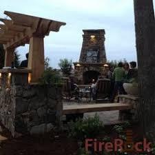 Firerock Masonry Fireplace Kits by Firerock Outdoor Fireplace Kit Outdoor Fireplaces Pinterest