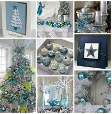 Decoration Christmas Tree White by Lovely Silver And Blue And White Christmas Tree Decorations