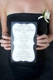 one page wedding programs vendor spotlight a simple photograph brilliant bash