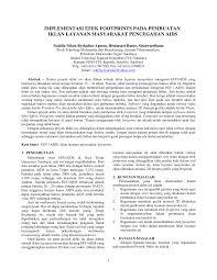 cara membuat batasan masalah yang benar implementasi efek footprints pada pdf download available