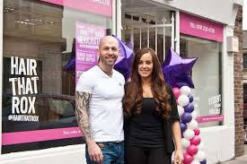 foxy hair extensions newcastle geordie shore marnie cuts the ribbon at hair