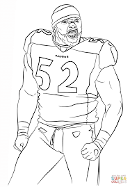 baltimore ravens coloring page many interesting cliparts