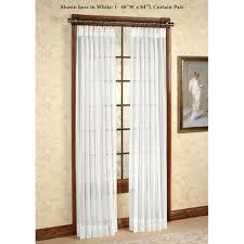 splendor semi sheer pinch pleat drapery curtain pair