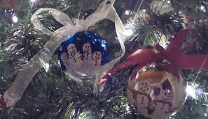 craft painted snowman ornaments triad on