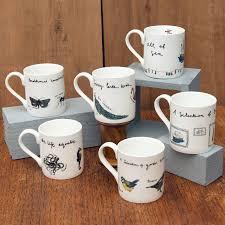 fancy pants birds u0027 bone china bird mug by alice shields ceramics
