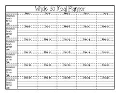 blank printable grocery list template preparing your whole30 free printables fit your whole meal plan are you busy planning and preparing for your whole30 these free printable planners will help