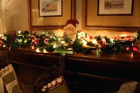 wreath above fireplace ideas for garland